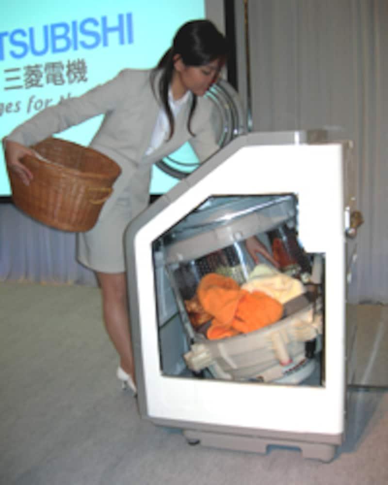 三菱電機・ムービングドラム