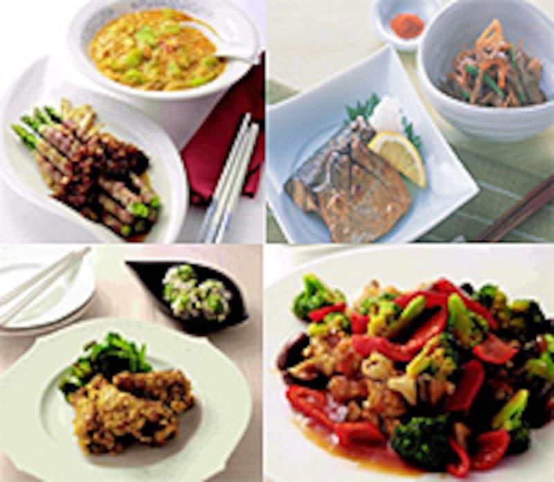 焼き物と煮物のイメージ