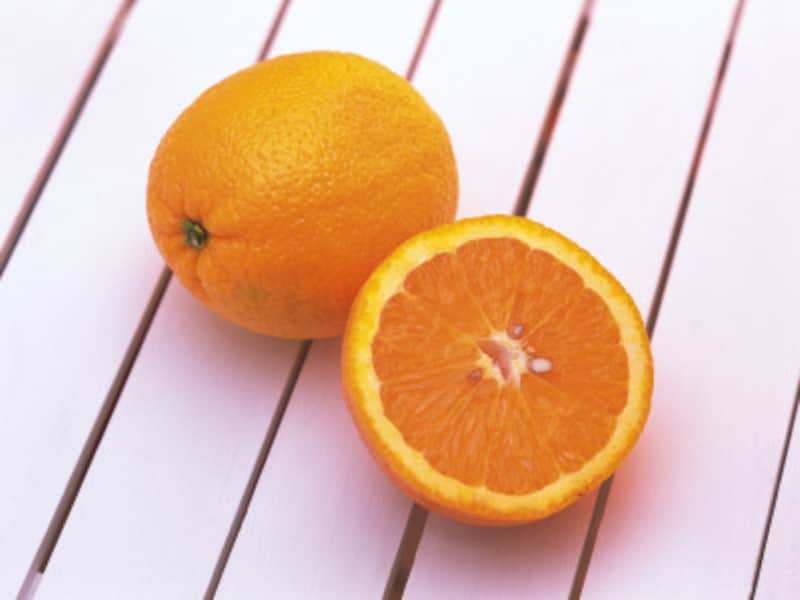 フルーツはオレンジがおすすめ