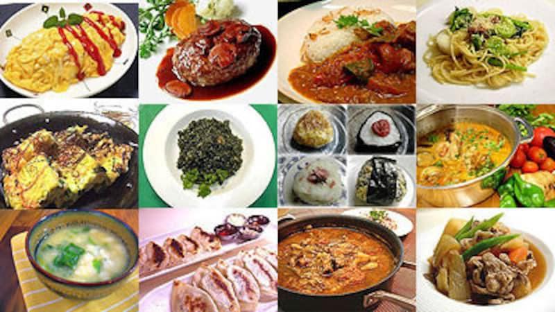 作ってほしい手料理ベスト10