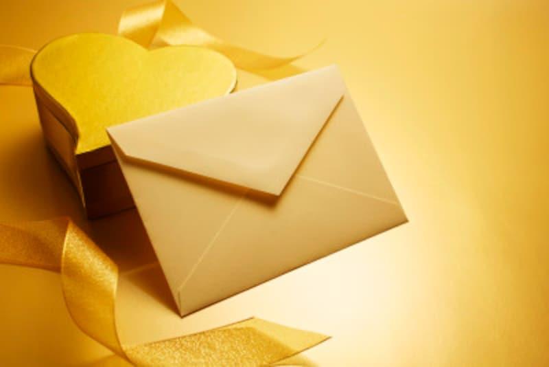 チョコレートと手紙