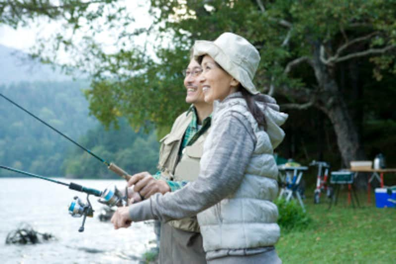 「釣りをしていると、ストレス解消ができます」そんな一言をいってみよう!