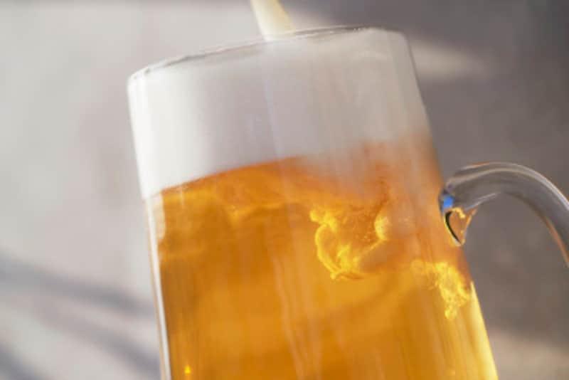 私はワインよりビールの方が好き
