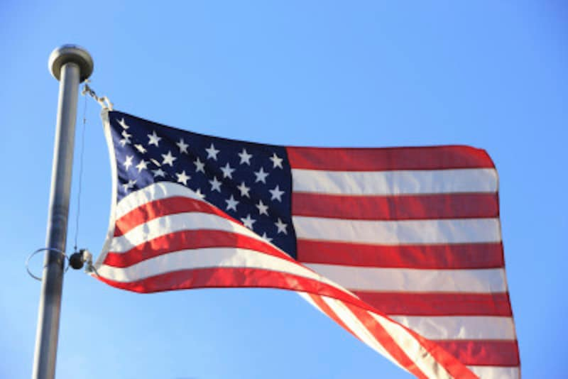 アメリカの各州名の略称