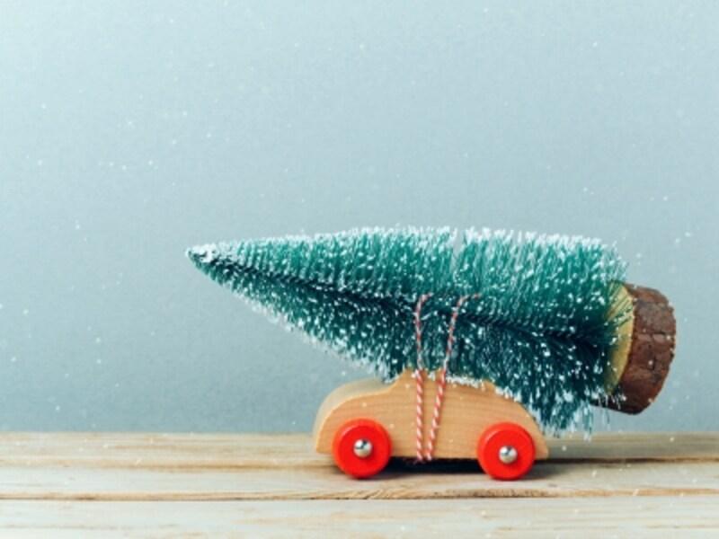 クリスマスカードが郵送が基本
