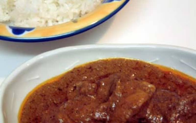 チキンのインドカレーのレシピ