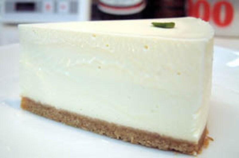 レアチーズケーキの完成版