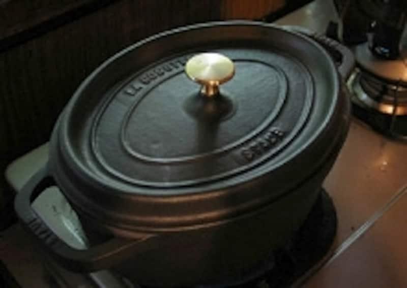 ストーブの鍋