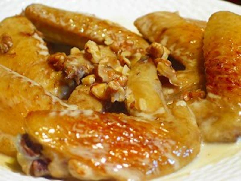 鶏手羽先のシードル煮