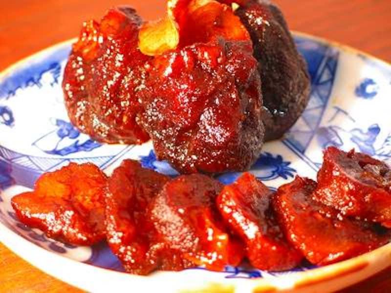干し柿のバルサミコ酢漬け