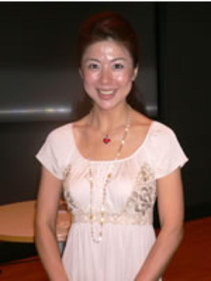 モデル・由里子さん