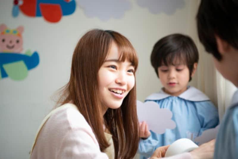 幼稚園教諭、保育士の資格は子ども好きな人にピッタリ