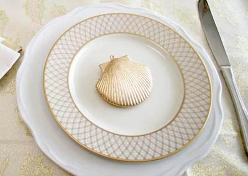 白いお皿でオシャレに見せるイメージ