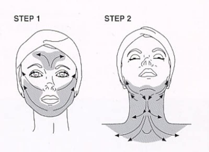 ダイヤモンド アイスリフト DNAクリオマスクの使用法