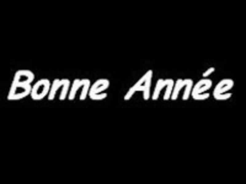 フランス語,新年,新年の挨拶,bonneannee,新年挨拶,年賀状,接続法