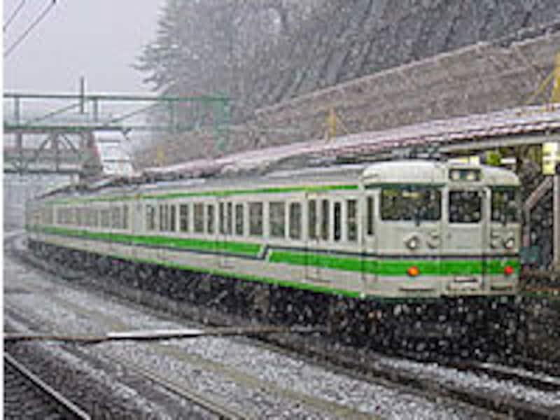 上越線の電車