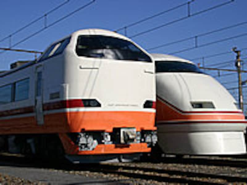 JRと東武の車両
