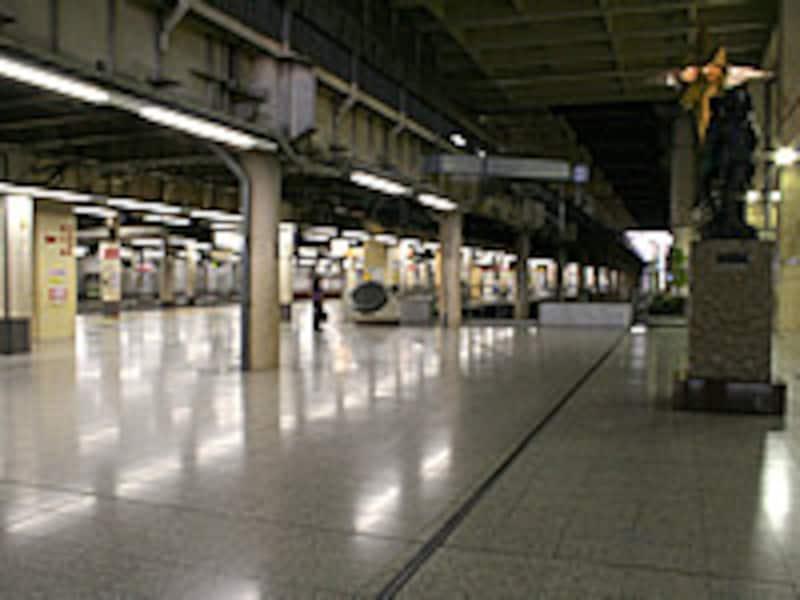上野駅地平ホーム