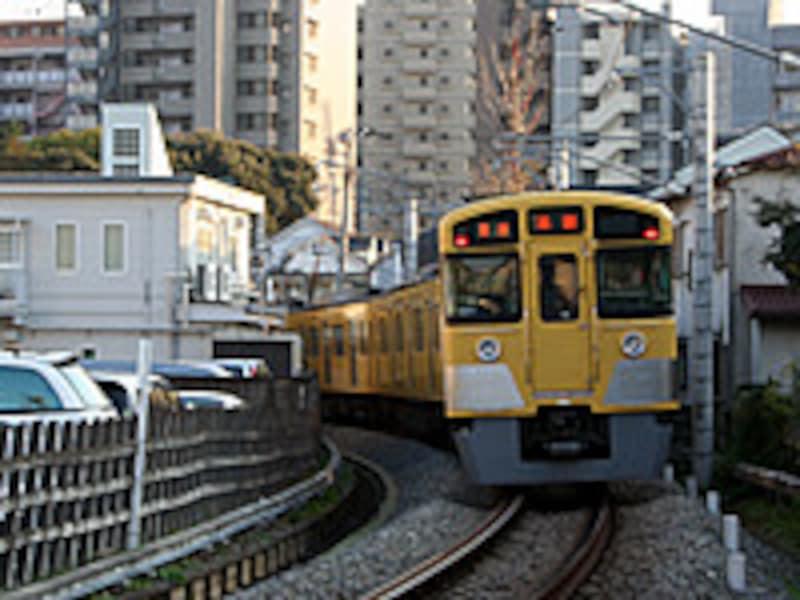 西武豊島線の電車