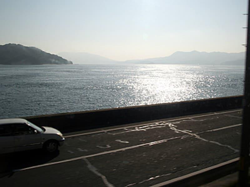 山陽本線の車窓