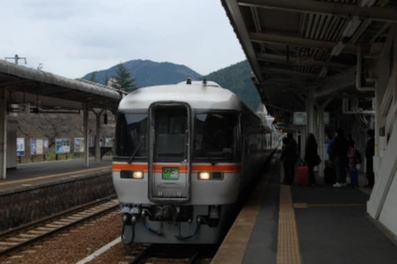 下呂駅に到着