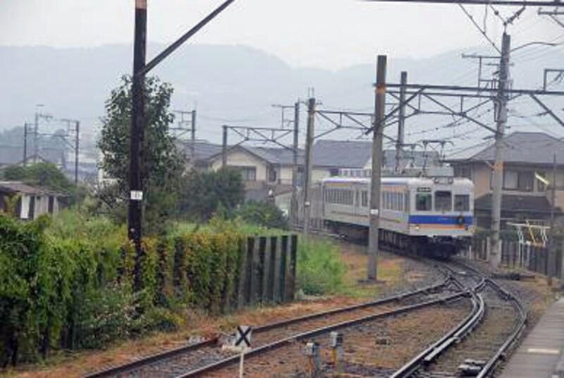 「貴志川線の電車」