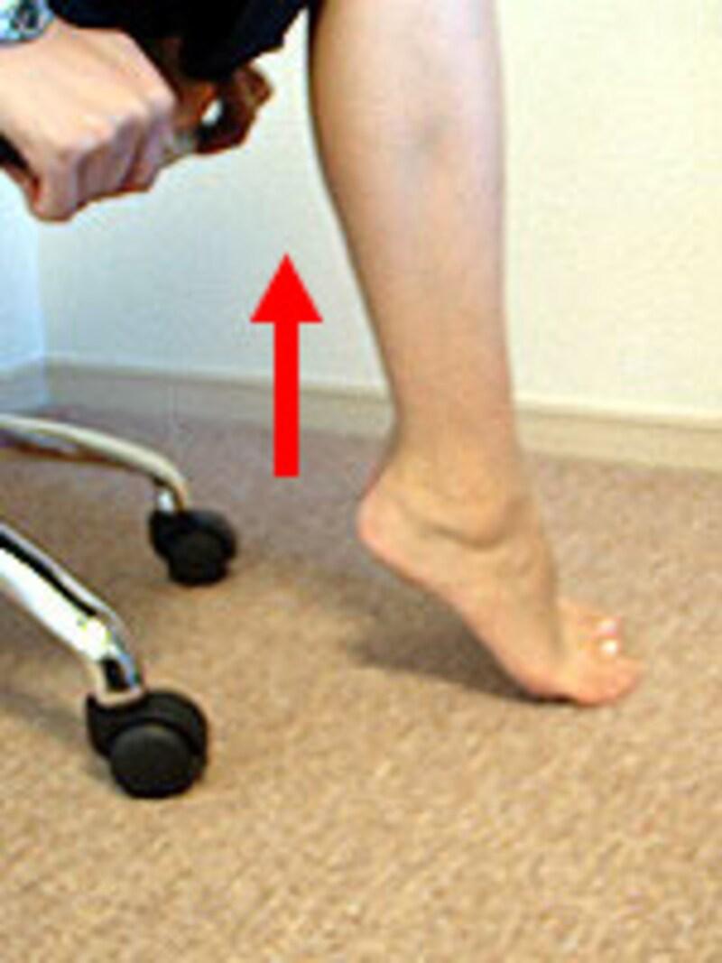 足のストレッチ(その1)