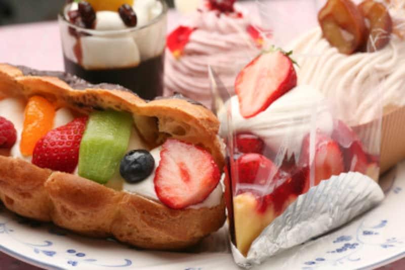 pastryはケーキやパイ、菓子パンなど