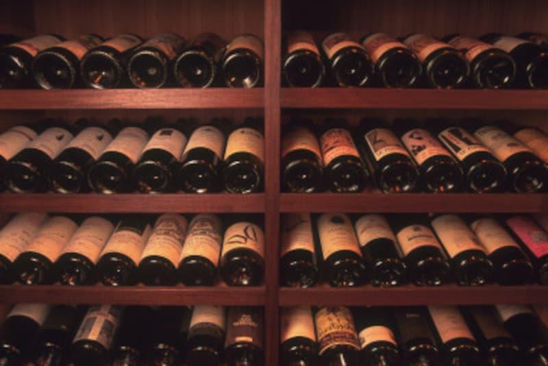 cellar(貯蔵室)でテイスティングできることも