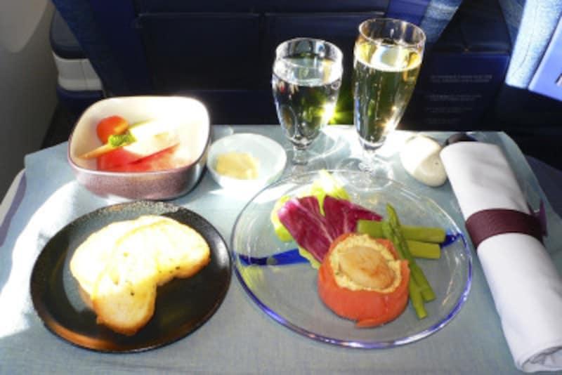 機内食についての英語