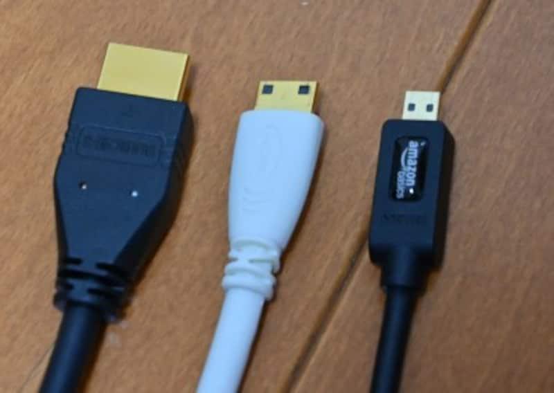 HDMI,MiniHDMI,MicroHDMI