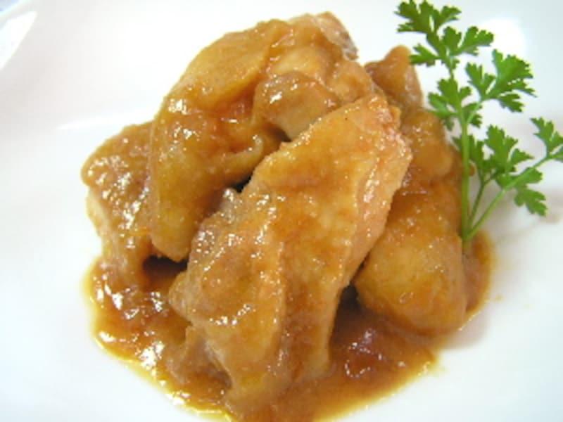 鶏のケチャップ味噌焼き