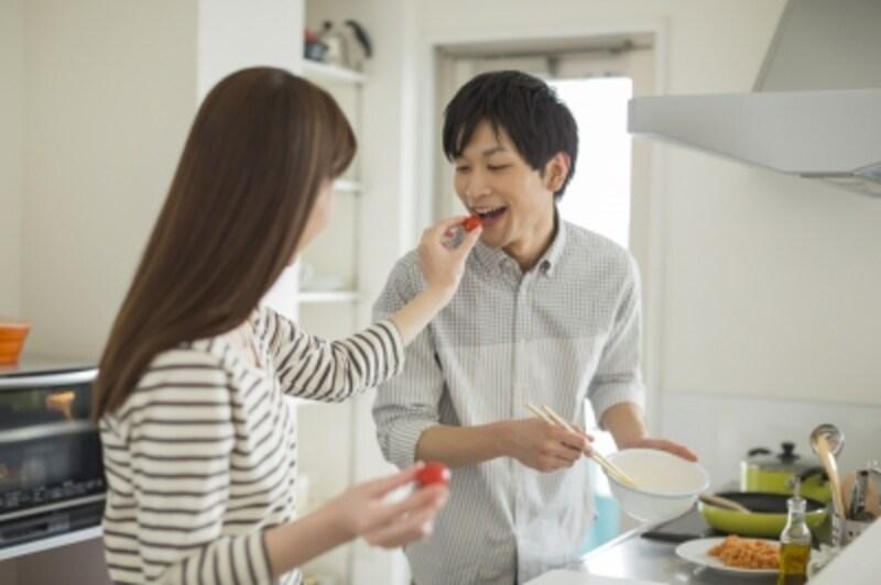 夫婦円満の秘訣ランキング4位・おいしい食事