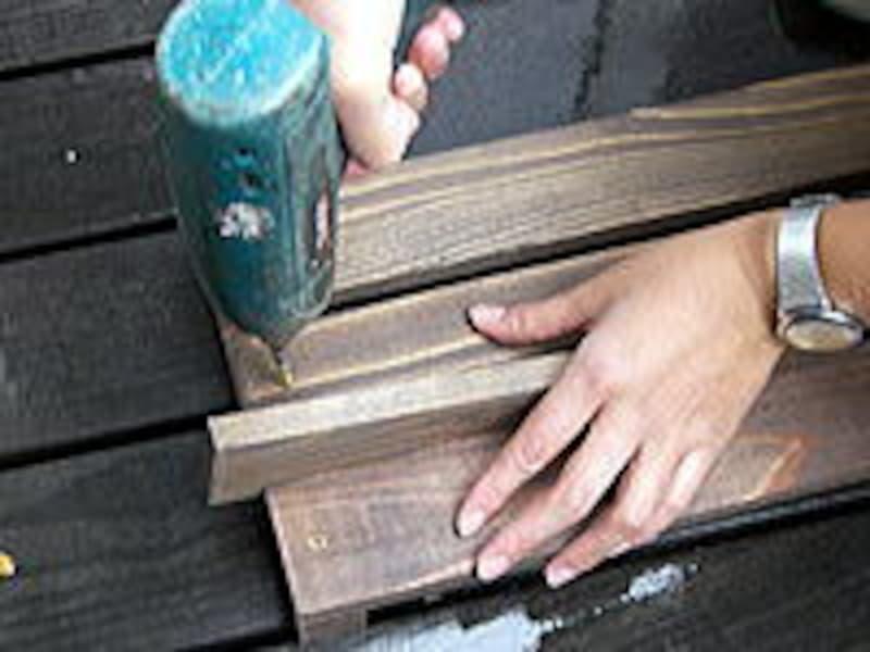 木製プランターをつくる