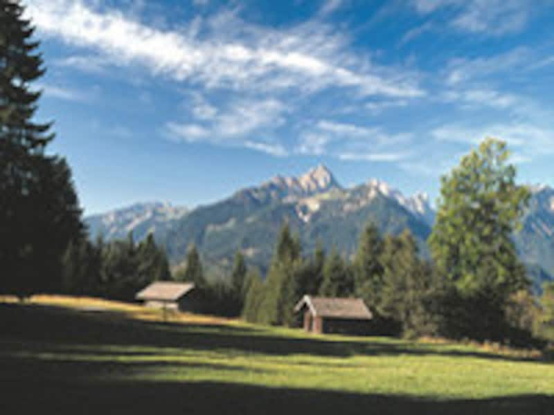 南ドイツの風景