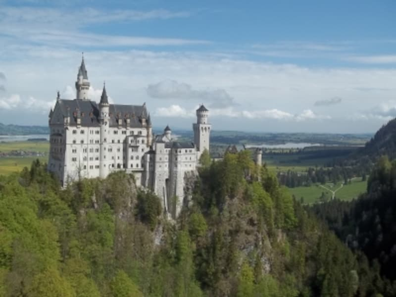 ノイシュヴァンシュタイン白亜の城undefinedドイツundefined
