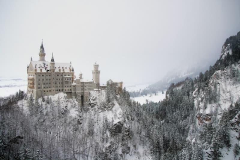 冬undefinedノイシュバンシュタイン城undefinedドイツ