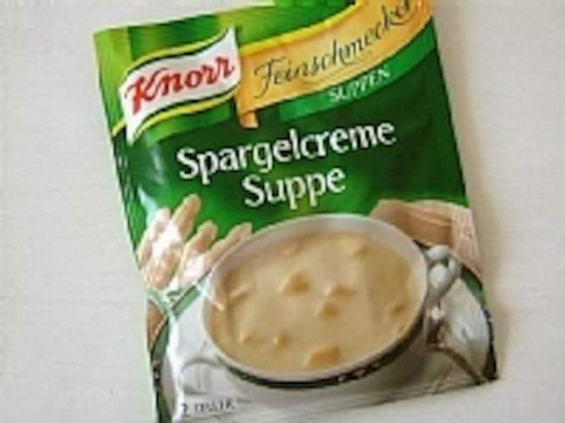 シュパーゲルクリームスープ
