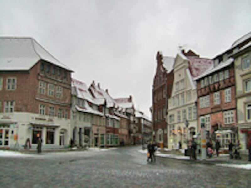 冬のドイツ