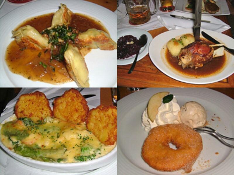 ラーツケラーのドイツ料理