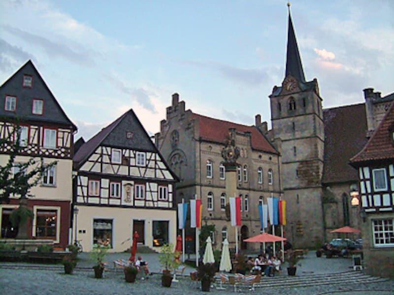 古城街道の町クローナッハ