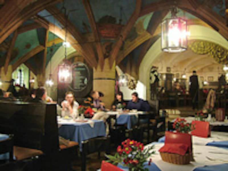 ミュンヘンの市庁舎レストラン「ラーツケラー」