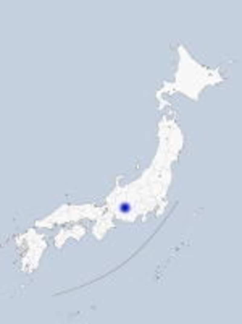 岐阜・馬籠の地図