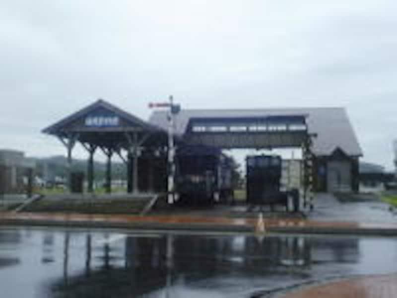 道の駅 かみゆうべつ温泉チューリップの湯にある鉄道資料館
