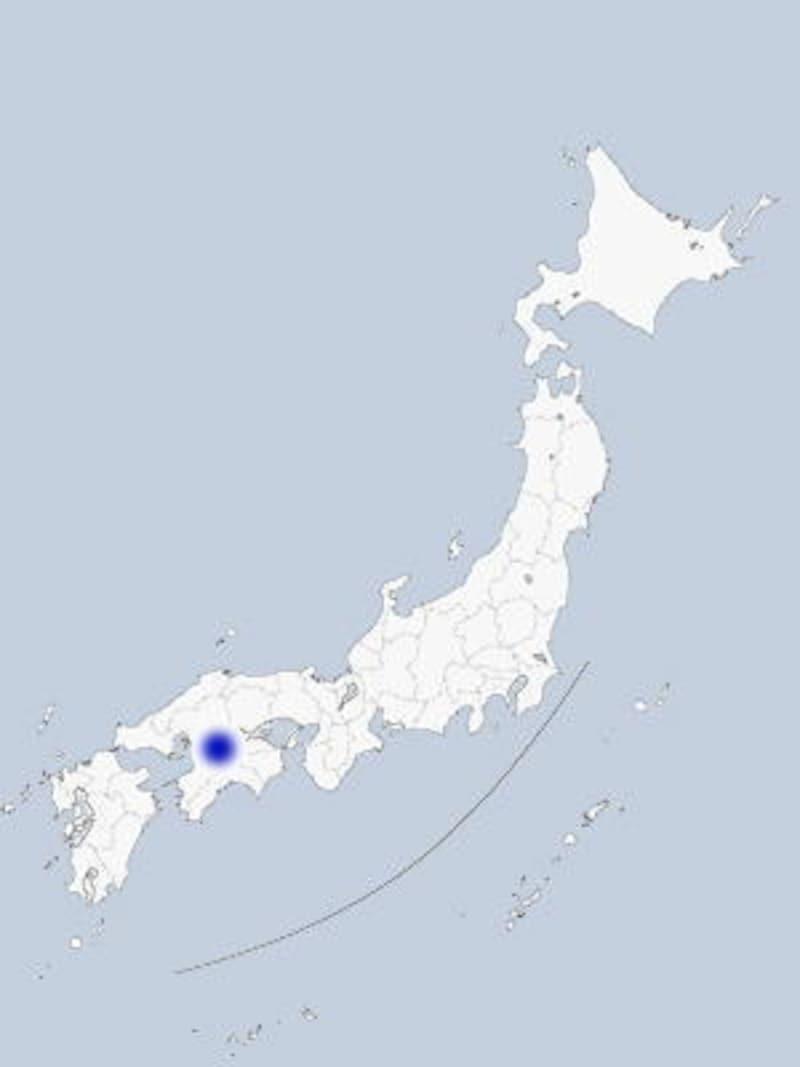 しまなみ海道の地図