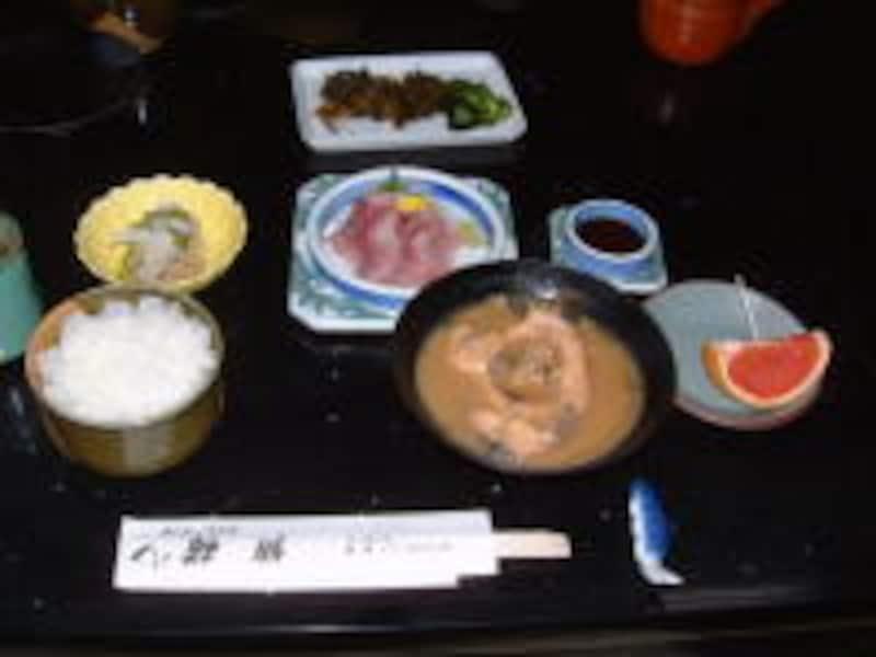 佐久の名物料理・鯉料理