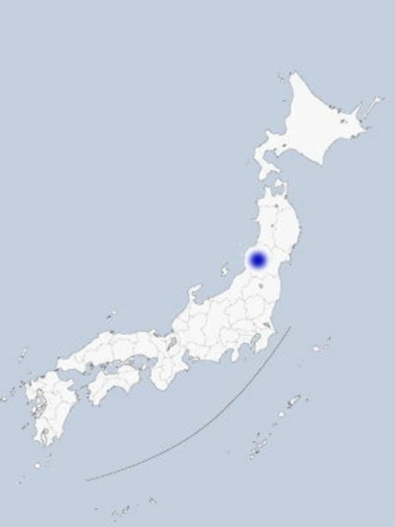 鶴岡の地図