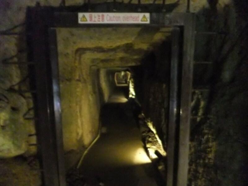 石見銀山・龍源寺間歩(3)/坑道
