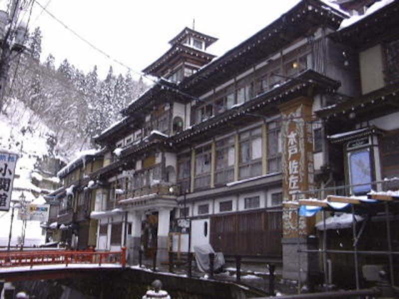 銀山温泉・能登屋旅館