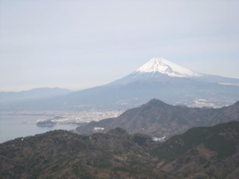 伊豆の国パノラマパークから眺める富士山(2)